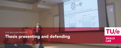 Thesis presenting and defending